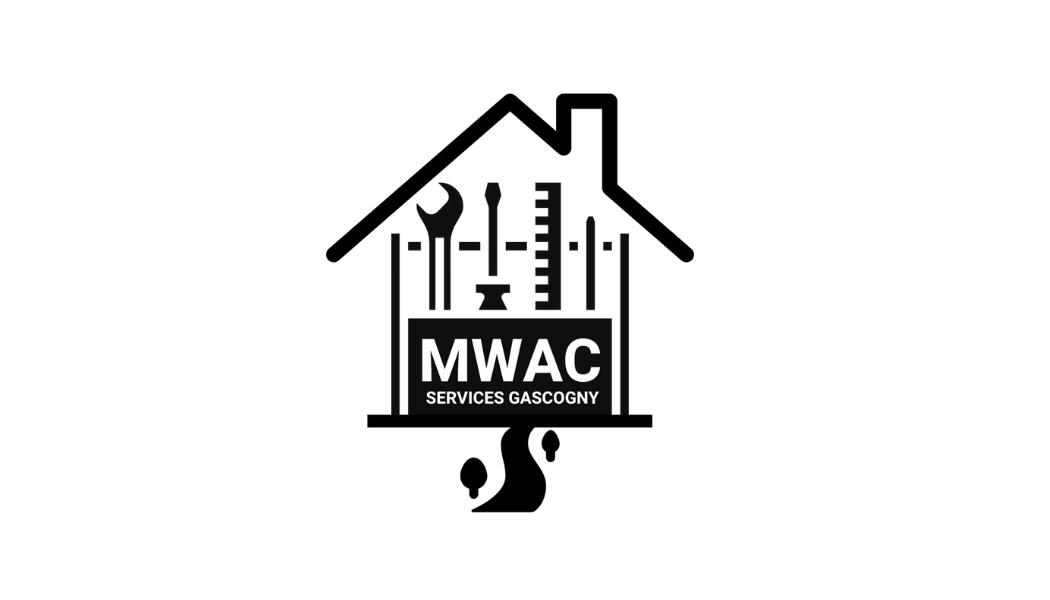 Graphisme Création Logo - MWAC Bâtiment & Jardins, Auch, Gers