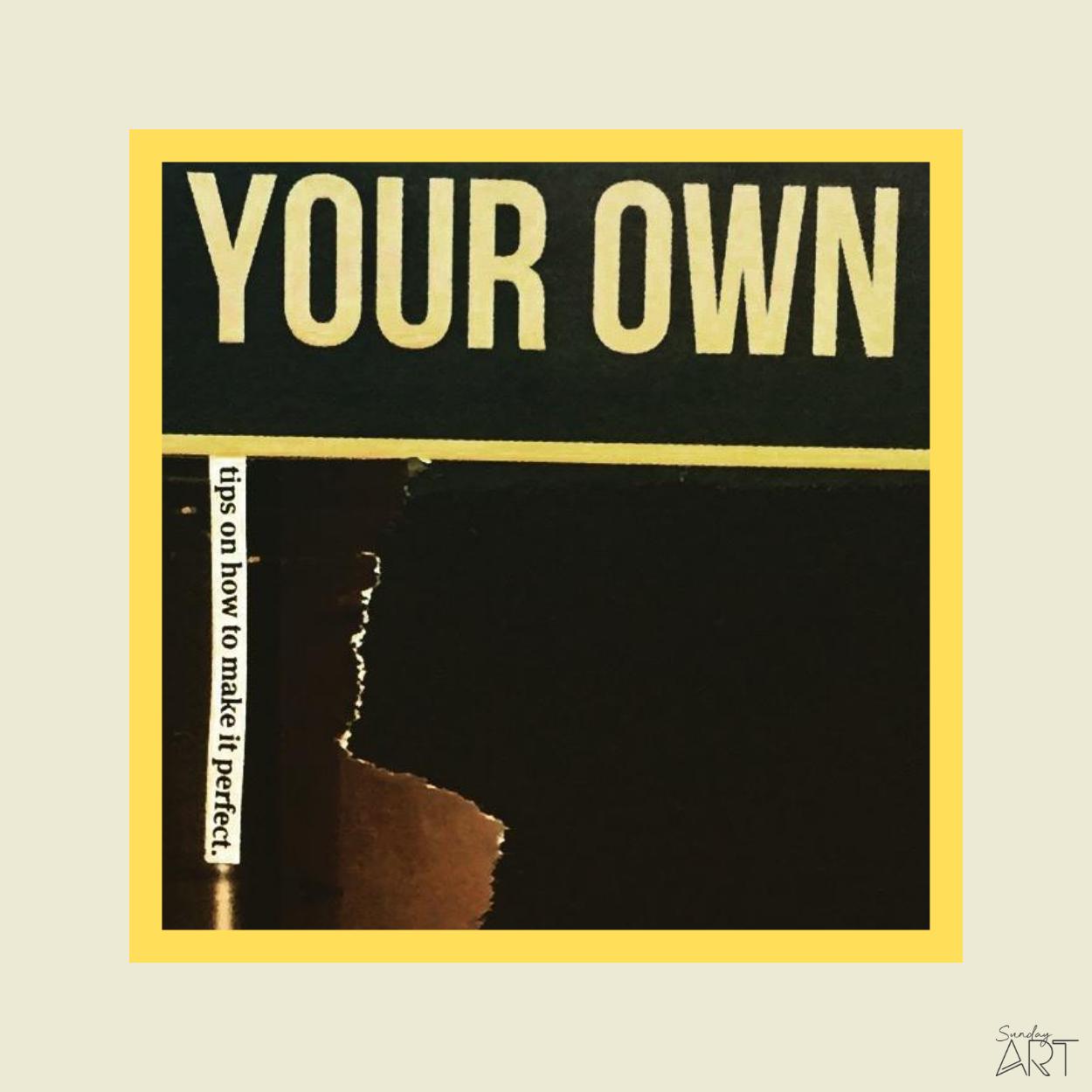illustration Your Own _ Sundayart © copyrights